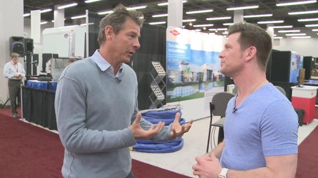 Sprayfoam 2015 Expo with Ty Pennington