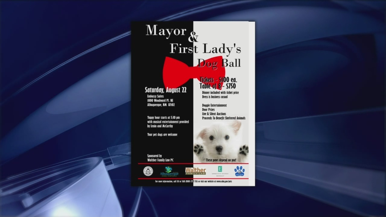 11th Annual Albuquerque Mayor And First Ladys Dog Ball Krqe