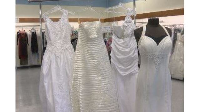 Goodwill bridal sale offers new dresses for dirt cheap