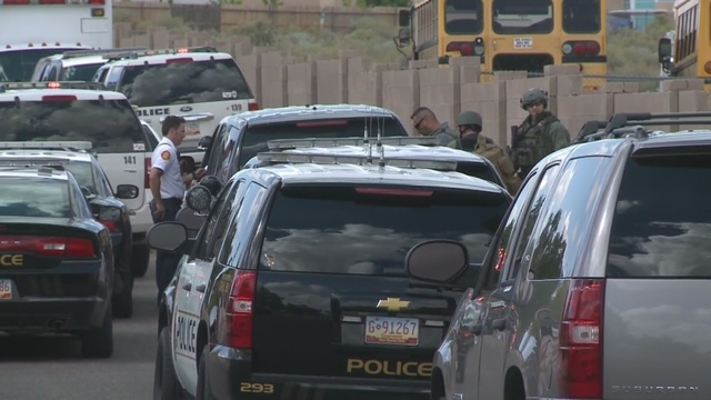 Police: SWAT suspect shot father before shooting himself - KRQE