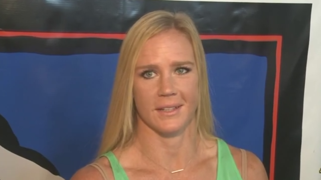 Holly Holm tries bull riding ahead of Ty Murray Invitational