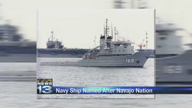 Navy ship's name to honor the Navajo Nation