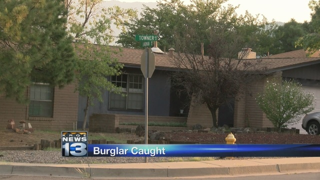 Man arrested for attempted home burglary