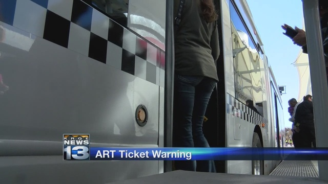 APD warns they will ticket drivers using ART lanes