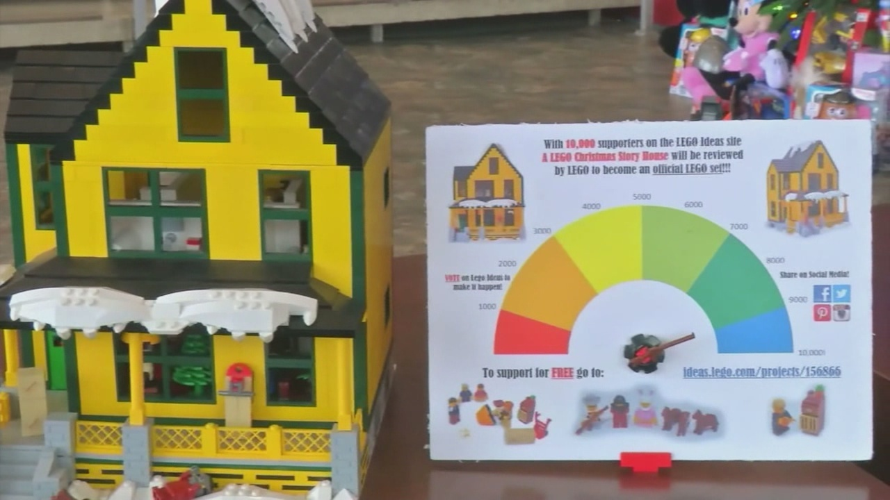 familys a christmas story house may become lego set - What Year Is Christmas Story Set