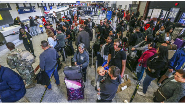 Airlines inch back to normal flow after Atlanta airport fire