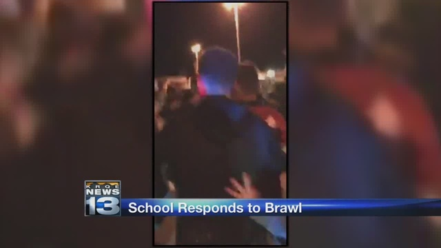 High school officials: students involved in basketball brawl will be punished