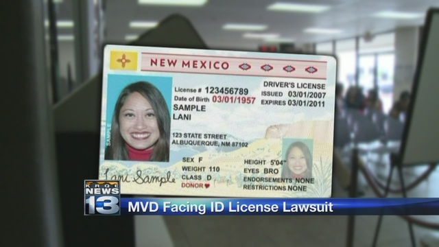 Lawsuit Identification System Over New Faces Mvd