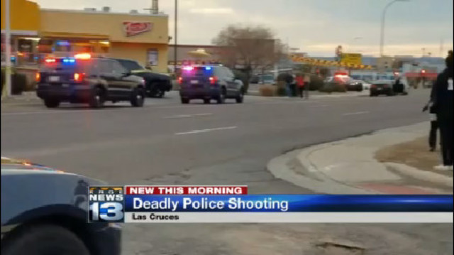 Homicide suspect killed in Las Cruces officer-involved shooting