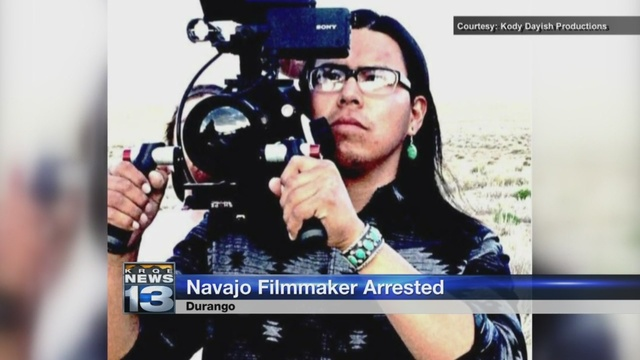 Navajo filmmaker arrested on sexual assault charges