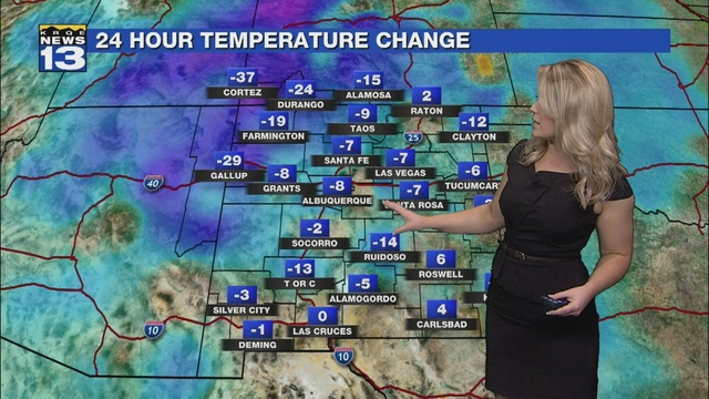 Kristen's Monday Morning Forecast