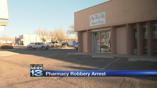 Man accused of robbing New Mexico pharmacies arrested in Colorado