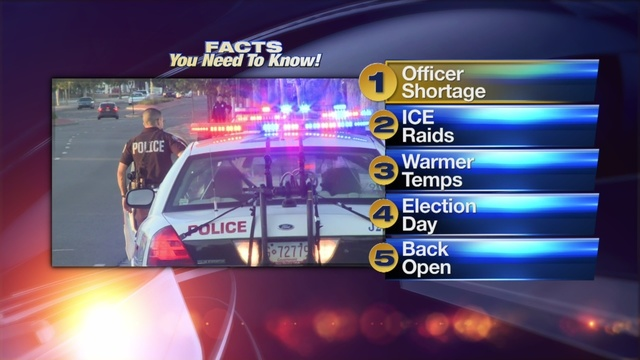 March 6 Morning Rush: Report shows few APD recruits successful