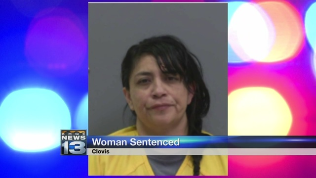 Clovis woman sentenced to five years for hitting pedestrian