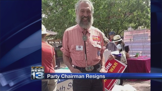 Embattled New Mexico Democratic Party chairman resigns
