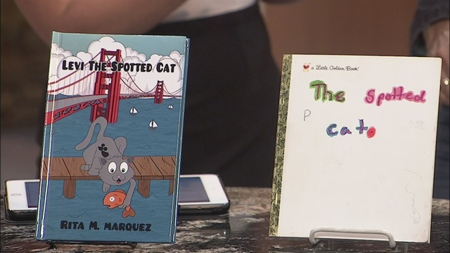 Family inspires local Grandmother to write popular children's book