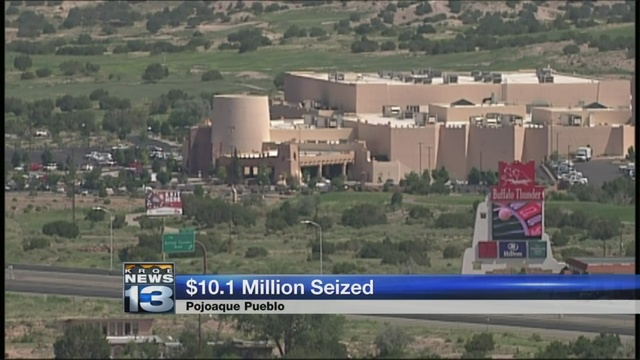 Federal government seizes over $10 million from Pojoaque Pueblo