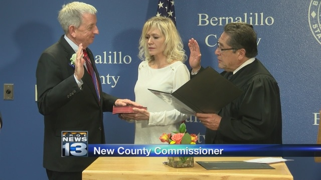 Bernalillo County Commission swears in new member