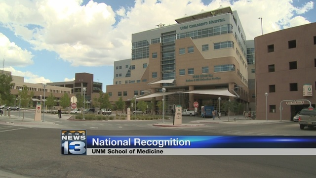 UNM School of Medicine makes national list of best medical schools