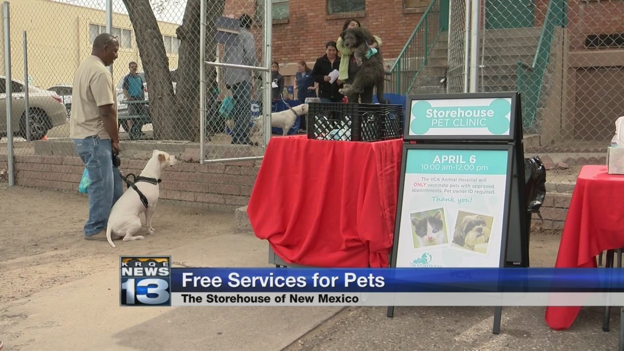 Image of: Pablo Ca Local Food Pantry Holds First Ever Pet Clinic