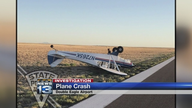 NMSP: Small plane crashes at Double Eagle Airport