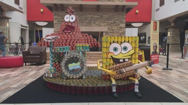 'Can-struction Competition' benefits local food pantry