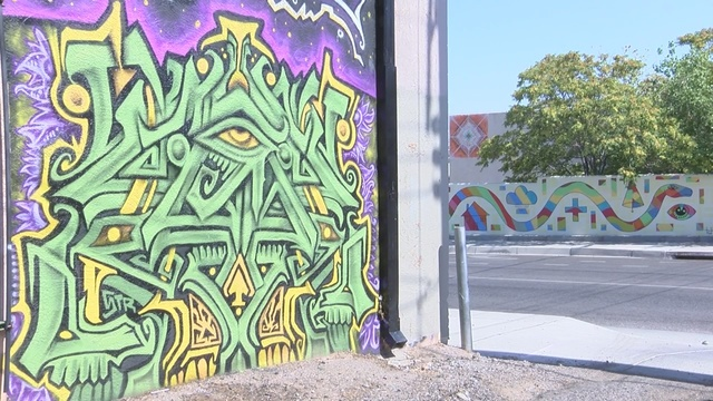 New Website Pinpoints Street Art Mural Map In Albuquerque