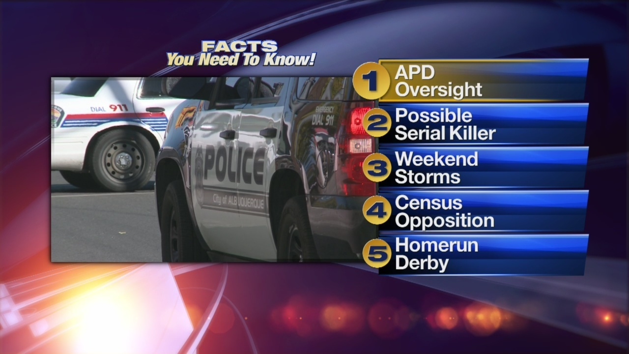 July 13th Morning Rush: APD Chief: Process to become a