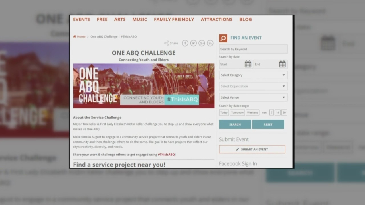 2ae8e0b719c New service project aims to  connect youth and elders  in Albuquerque