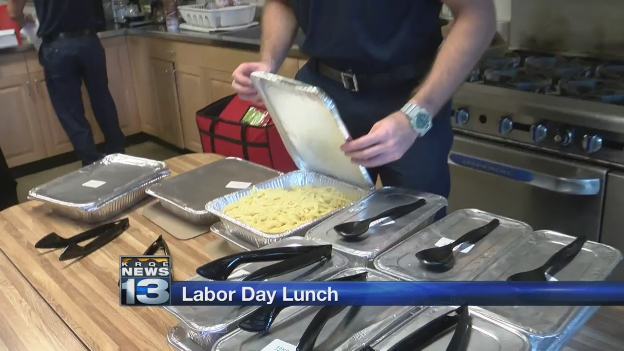 olive garden delivers labor day lunch to first responders - Olive Garden Clovis
