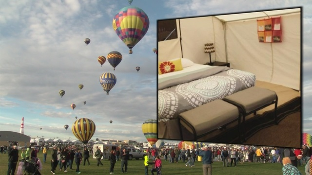 New luxury options available for Balloon Fiesta guests
