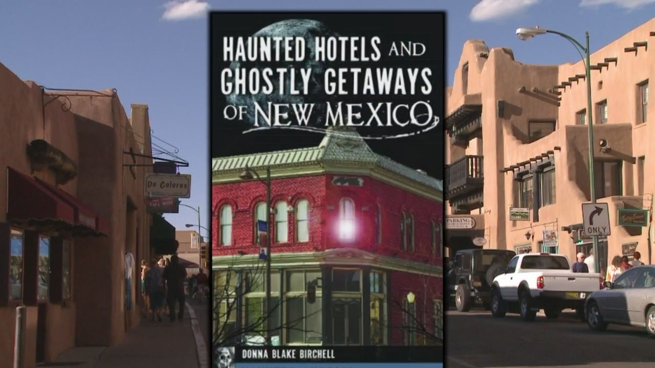 New Book Highlights Haunted Hotels Across New Mexico