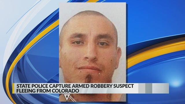 State Police capture Colorado robbery suspect after two-hour pursuit
