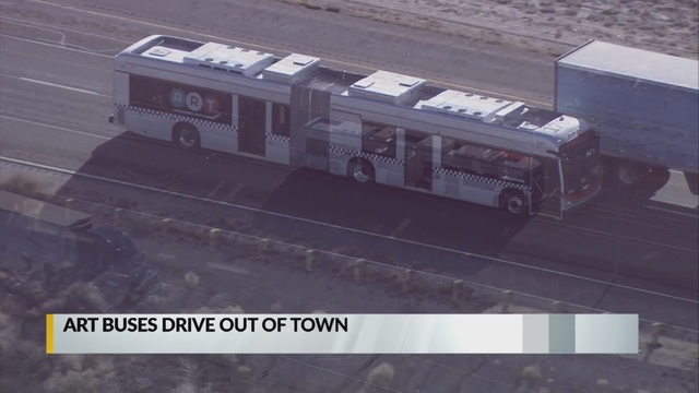 Bye-bye buses: ART vehicles leave Albuquerque