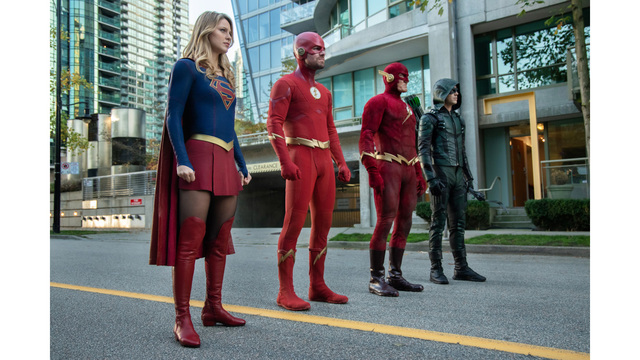 Relive The DC Crossover Event Monday Night