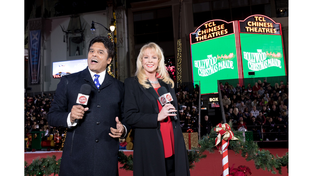 The 87th Annual Hollywood Christmas Parade Friday Night