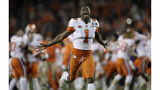 Clemson Topples Alabama 44 16 In Ncaa Football Playoff Championship Win