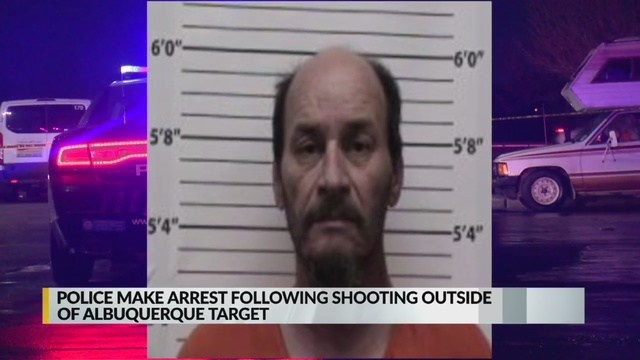 Man accused of shooting at ex-wife's husband in Target parking lot
