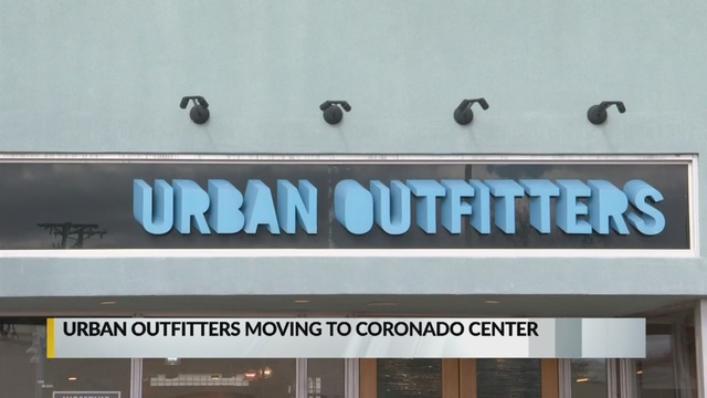 Urban Outfitters plans to relocate to Coronado Center