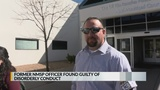Former NMSP officer found guilty of disorderly conduct