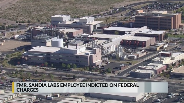 Former Sandia Labs employee indicted for stealing federal funds
