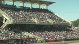 Fans flood Isotopes Park for exhibition game with Colorado Rockies