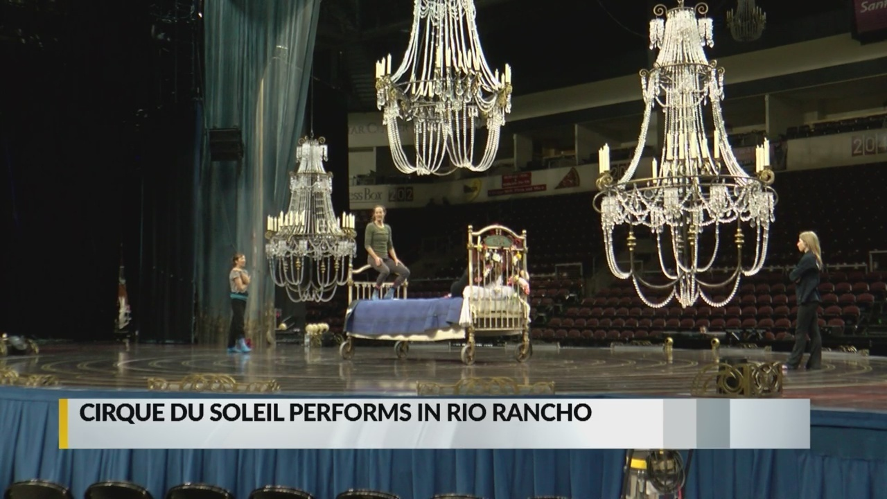 Behind-the-scenes look at Cirque du Soleil show 'Corteo'