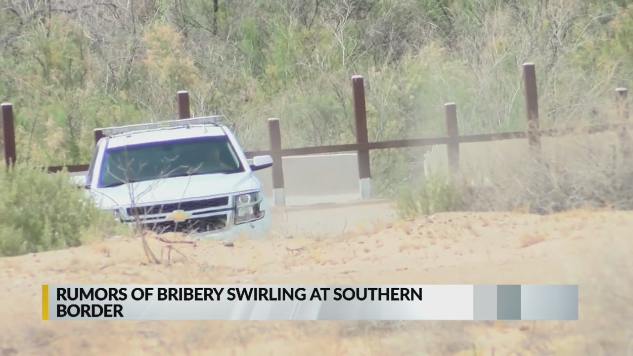 Rumors of bribery swirling at southern border