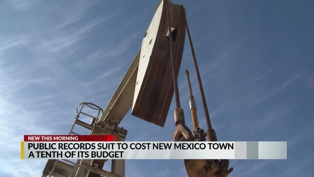 Public records suit cost New Mexico town pay hefty amount