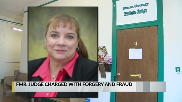 New Mexico judge accused of stealing from dead man's estate