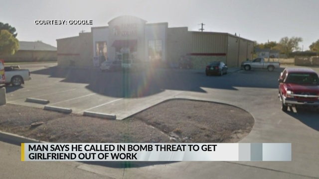 Police: Man made bomb threat to get girlfriend off work