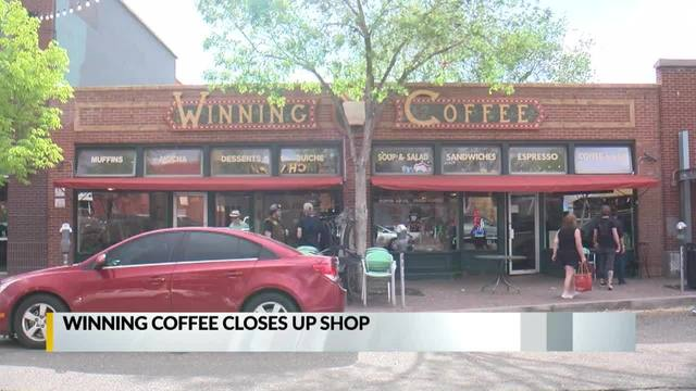 Winning Coffee closes its doors after 24 years