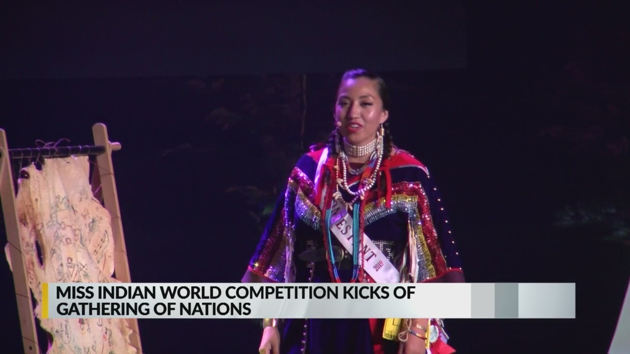 Miss Indian World Competition kicks off Gathering of Nations