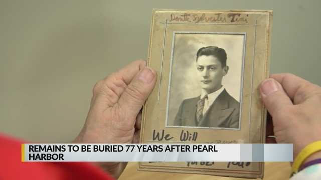 77 years later, fallen Navy radioman to be laid to rest